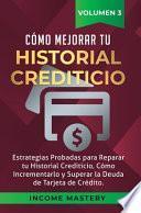libro Cómo Mejorar Tu Historial Crediticio