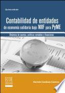 libro Contabilidad De Entidades De Economía Solidaria Bajo Niif Para Pyme