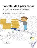 libro Contabilidad Para Todos: Introducción Al Registro Contable