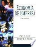 libro Economía De Empresa