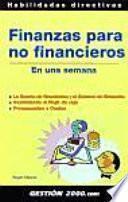 libro Finanzas Para No Financieros En Una Semana