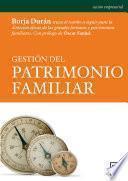 libro Gestión Del Patrimonio Familiar