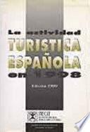 libro La Actividad Turistica Española En 1998