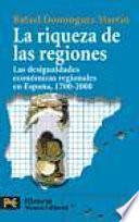 libro La Riqueza De Las Regiones