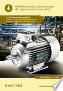libro Montaje Y Mantenimiento De Máquinas Eléctricas Rotativas. Elee0109   Montaje Y Mantenimiento De Instalaciones Eléctricas De Baja Tensión
