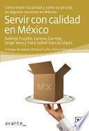 libro Servir Con Calidad En México