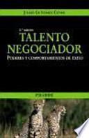 libro Talento Negociador
