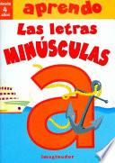 libro Aprendo Las Letras Minusculas / I Learn The Lowercase Letters