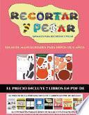 libro Ideas De Manualidades Para Niños De 9 Años (animales Para Recortar Y Pegar)