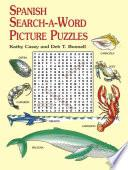 libro Spanish Search A Word Picture Puzzles