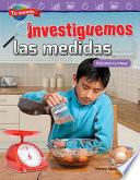 libro Tu Mundo: Investiguemos Las Medidas: Volumen Y Masa (your World: Investigating Measurement: Volume And Mass)