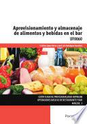 libro Uf0060   Aprovisionamiento Y Almacenaje De Alimentos Y Bebidas En El Bar