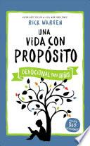 libro Una Vida Con Proposito   Devocional Para Ninos