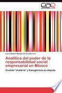 libro Analítica Del Poder De La Responsabilidad Social Empresarial En México
