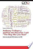 libro Anthony Trollope Y Análisis Del Discurso