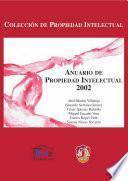 libro Anuario De Propiedad Intelectual 2002