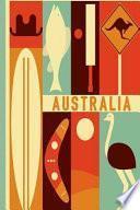 libro Australia Diario De Viaje. Travel Journal. Cuaderno Exploradores. Wanderlust