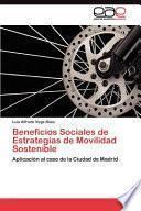 libro Beneficios Sociales De Estrategias De Movilidad Sostenible