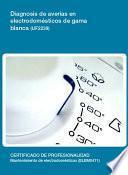 libro Diagnosis De Averías En Electrodomésticos De Gama Blanca (uf2239)