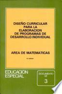 libro Diseño Curricular Para La Elaboración De Programas De Desarrollo Individual
