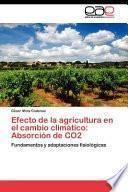 libro Efecto De La Agricultura En El Cambio Climático