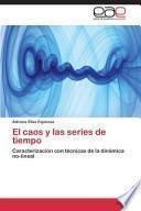 libro El Caos Y Las Series De Tiempo