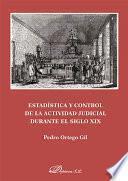 libro Estadística Y Control De La Actividad Judicial Durante El Siglo Xix