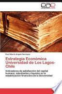 libro Estrategia Económica Universidad De Los Lagos  Chile