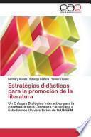 libro Estratégias Didácticas Para La Promoción De La Literatura