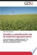 libro Gestion Y Planificacion De La Empresa Agropecuaria