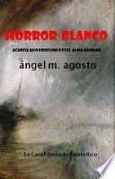 libro Horror Blanco