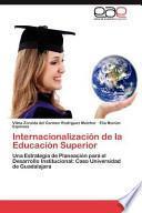 libro Internacionalización De La Educación Superior