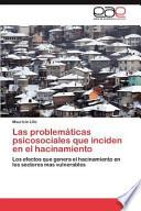 libro Las Problemáticas Psicosociales Que Inciden En El Hacinamiento