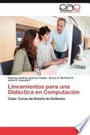 libro Lineamientos Para Una Didáctica En Computación