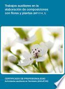 libro Mf1114_1 Trabajos Auxiliares En La Elaboración De Composiciones Con Flores Y Plantas