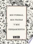libro Mis Poemas, Mis Prosas Y Mis Versos
