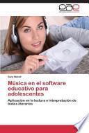 libro Música En El Software Educativo Para Adolescentes