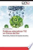 libro Políticas Educativas Tic En Corea Del Sur