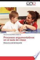 libro Procesos Argumentativos En El Aula De Clase