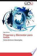 libro Progreso Y Bienestar Para Todos