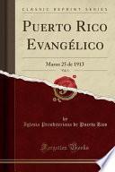 libro Puerto Rico Evangélico, Vol. 1