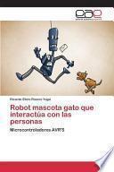 libro Robot Mascota Gato Que Interactúa Con Las Personas