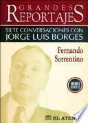 libro Siete Conversaciones Con Jorge Luis Borges