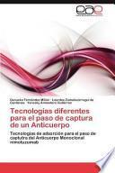 libro Tecnologías Diferentes Para El Paso De Captura De Un Anticuerpo