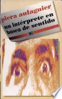 libro Un Intérprete En Busca De Sentido