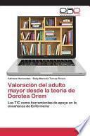 libro Valoracion Del Adulto Mayor Desde La Teoria De Dorotea Orem