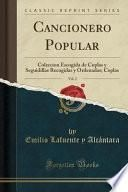 libro Cancionero Popular, Vol. 2
