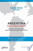 libro Argentina En El Siglo Veinte