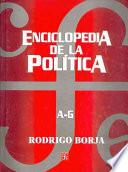 libro Enciclopedia De La Politica, A-g
