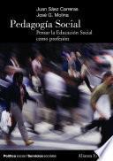 libro Pedagogía Social